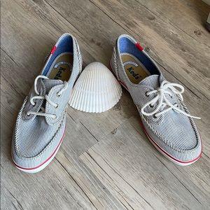 Keds NWT Cute & Comfy Canvas Boat Shoe
